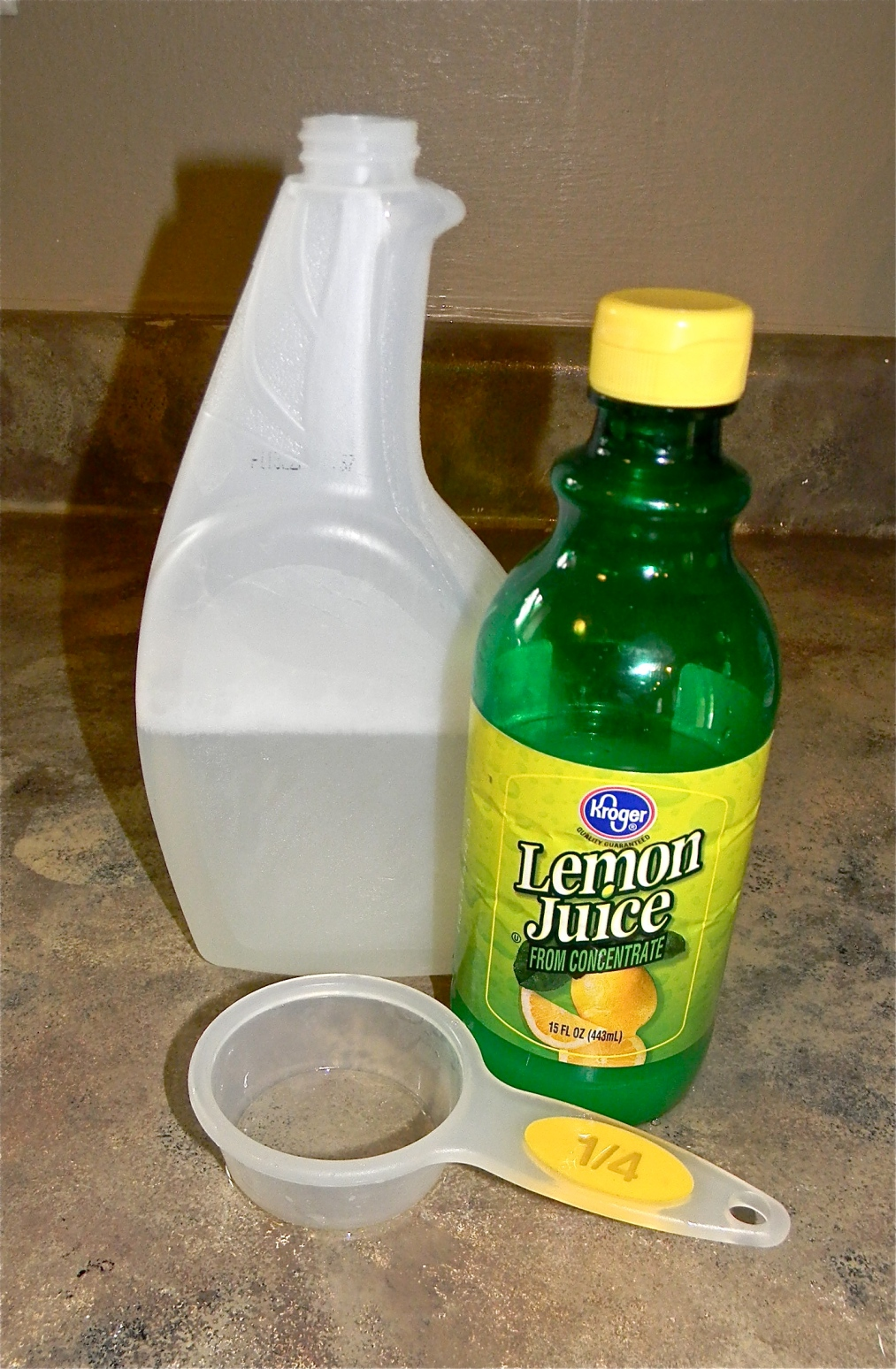 DIY Hard water remover